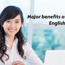 Major benefits of learning English